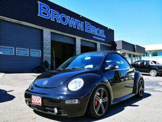 Used 2004 Volkswagen Beetle Cabriolet GLS Turbo for sale in Surrey, BC