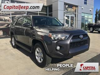 Used 2016 Toyota 4Runner SR5| Leather| Low KM| Sunroof| seats 7 for sale in Edmonton, AB