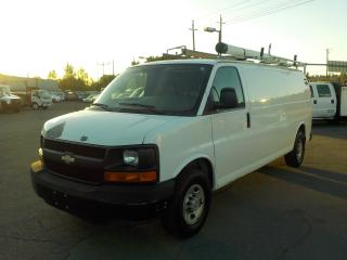 Used 2007 Chevrolet Express G3500 Extended Cargo Van with Rear Shelving and Generator for sale in Burnaby, BC