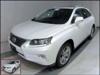 Used 2014 Lexus RX 350 Touring AWD Navi Heated/Cooled for sale in Winnipeg, MB