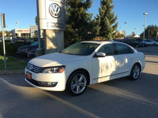 Used 2015 Volkswagen Passat Highline 1.8T 6sp at w/ Tip for sale in Surrey, BC