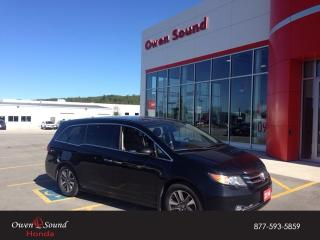 Used 2014 Honda Odyssey Touring for sale in Owen Sound, ON