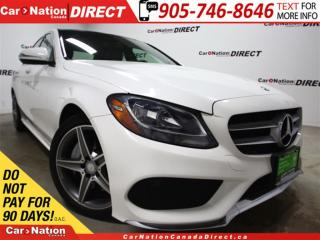 Used 2015 Mercedes-Benz C-Class C300 4MATIC| PANO ROOF| NAVI| LEATHER| for sale in Burlington, ON