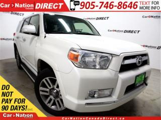 Used 2012 Toyota 4Runner Limited| 4X4| LEATHER| SUNROOF| NAVI| for sale in Burlington, ON