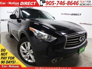 Used 2012 Infiniti FX35 Limited Edition| AWD| NAVI| SUNROOF| LEATHER| for sale in Burlington, ON