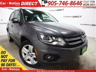 Used 2013 Volkswagen Tiguan 2.0 TSI Comfortline| AWD| LEATHER| PANO ROOF| for sale in Burlington, ON