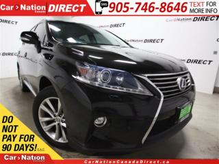 Used 2015 Lexus RX 450h | HYBRID| AWD| SUNROOF| LEATHER| for sale in Burlington, ON