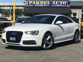 Used 2013 Audi A5 2.0T S-LINE*NAVI*PUSH START*PANORAMIC for sale in York, ON