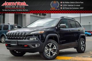 New 2017 Jeep Cherokee New Car Trailhawk Leather+|4x4|Tech,SafetyTecPkgs|Nav|HeatVtdSeats for sale in Thornhill, ON