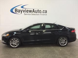 Used 2017 Ford Fusion SE- 2.5L! KEYPAD ENTRY! SUNROOF! REV CAM! SYNC! for sale in Belleville, ON