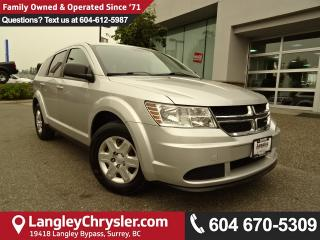 Used 2012 Dodge Journey *ACCIDENT FREE * LOCAL BC CAR * for sale in Surrey, BC
