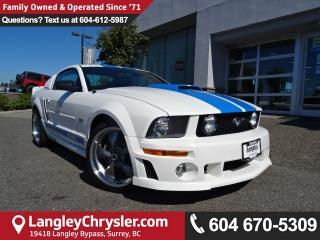 Used 2006 Ford Mustang *ACCIDENT FREE * LOCAL BC SPORTS CAR * for sale in Surrey, BC