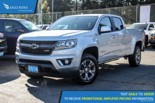 New 2018 Chevrolet Colorado Z71 Navigation, Heated Seats, and Backup Camera for sale in Port Coquitlam, BC