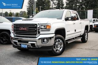New 2018 GMC Sierra 3500 HD SLT Navigation, Heated Seats, and Backup Camera for sale in Port Coquitlam, BC