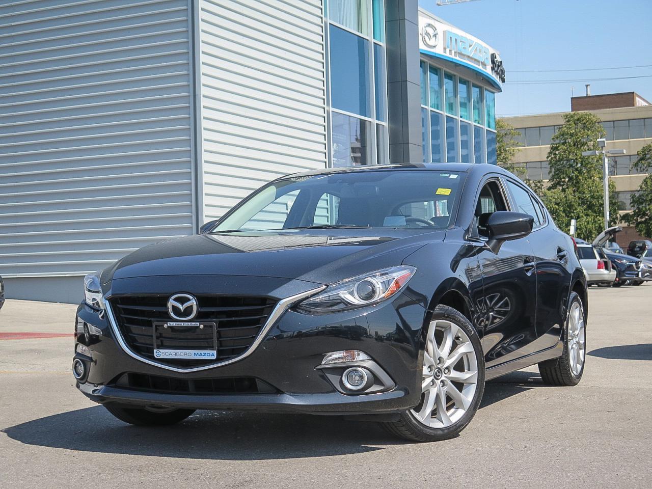2014 Mazda MAZDA3 GT LEATHER 0.9% FINANCE!!