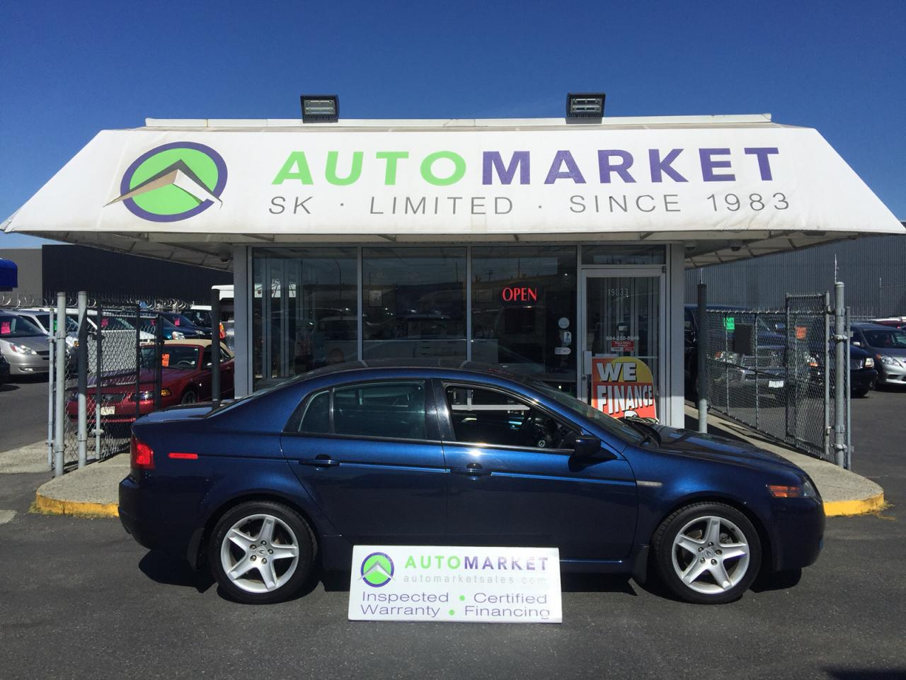 Used Acura TL LOADED LEATHER SUNROOF For Sale In Langley - 2004 acura tl used for sale