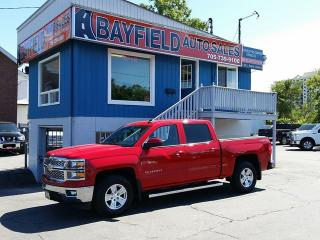 Used 2015 Chevrolet Silverado 1500 LT Crew Cab 4x4 **5.3L/Rev Cam** for sale in Barrie, ON