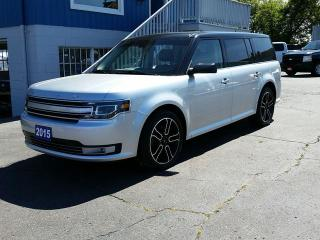 Used 2015 Ford Flex Limited AWD **7 Passenger/Leather/Vista Roof** for sale in Barrie, ON