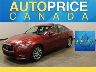 Used 2014 Infiniti Q50 NAVIGATION REAR CAM MOONROOF for sale in Mississauga, ON