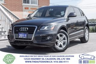 Used 2011 Audi Q5 2.0L Premium Plus | NO ACCIDENT | LEATHER | SUNROO for sale in Caledon, ON
