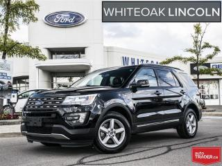 Used 2016 Ford Explorer XLT, FORD CERTIFIED, EXT WARR LOW RATES for sale in Mississauga, ON
