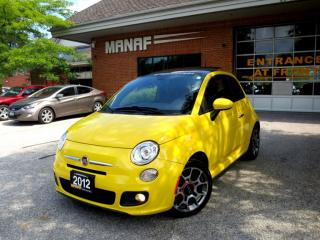 Used 2012 Fiat 500 Sport,LOADED,SUNROOF,CERTIFIED for sale in Concord, ON