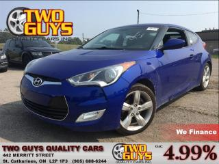 Used 2012 Hyundai Veloster BACKUP CAMERA HEATED FRONT SEATS for sale in St Catharines, ON
