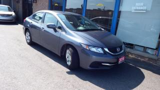 Used 2015 Honda Civic LX /BACKUP CAMERA/BLUETOOTH/IMMACULATE $10900 for sale in Brampton, ON