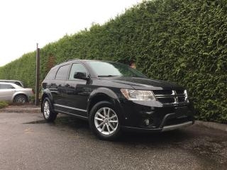 Used 2014 Dodge Journey SXT + NAV + SUNROOF + DVD PLAYER + BACK-UP CAM + NO EXTRA DEALER FEES for sale in Surrey, BC