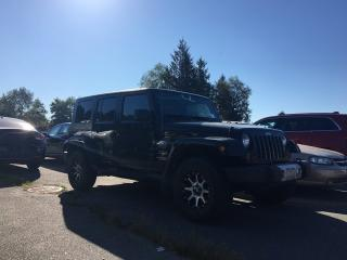 Used 2010 Jeep Wrangler Unlimited Sahara for sale in Surrey, BC