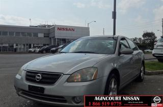 Used 2002 Nissan Altima SE |AS-IS SUPER SAVER| for sale in Scarborough, ON