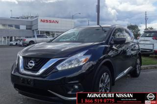 Used 2017 Nissan Murano SL |Leather Seats|Navigation|Non Rental| for sale in Scarborough, ON