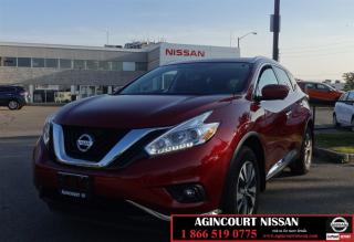 Used 2017 Nissan Murano SL |Leather|Moonroof|Camera| for sale in Scarborough, ON