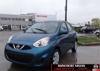 Used 2017 Nissan Micra SV  Non Rental No Accidents  for sale in Scarborough, ON