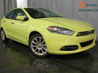 Used 2013 Dodge Dart Limited / Sunroof / Rear Back Up Camera / Heated Steering Wheel / Heated Front Seats for sale in Edmonton, AB