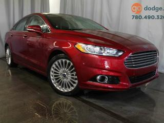 Used 2014 Ford Fusion Titanium All Wheel Drive / Rear Back Up Camera / Heated Front Seats for sale in Edmonton, AB