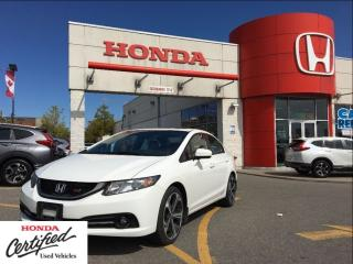 Used 2015 Honda Civic Sedan Si, beautiful, white with black/red for sale in Scarborough, ON