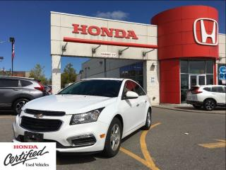 Used 2016 Chevrolet Cruze LT, leather, sunroof, backup camera for sale in Scarborough, ON