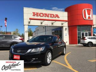 Used 2015 Honda Accord Sedan EX-L, power roof, clean carproof beauty for sale in Scarborough, ON