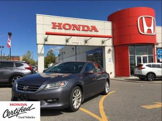 Used 2015 Honda Accord Sedan Touring, one owner, CLEAN carproof report for sale in Scarborough, ON