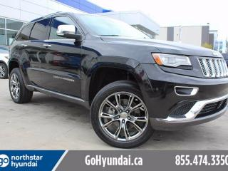 Used 2014 Jeep Grand Cherokee Summit HEMI AIR RIDE SUSPENSION ADAPTIVE CRUISE NAV for sale in Edmonton, AB