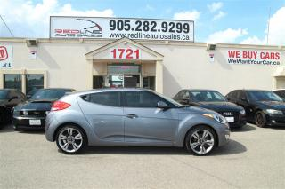 Used 2013 Hyundai Veloster Sunroof, Leather, WE APPROVE ALL CREDIT for sale in Mississauga, ON