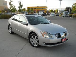 Used 2005 Nissan Maxima leather, sunroof, low km, warranty available for sale in North York, ON
