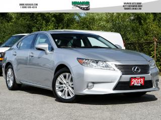 Used 2013 Lexus ES 350 LEATHER AND NAVIGATION for sale in North York, ON