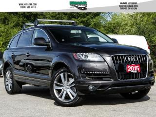 Used 2015 Audi Q7 3.0 TDI Progressiv (Tiptronic) for sale in North York, ON