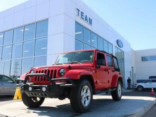 Used 2015 Jeep Wrangler Unlimited Sahara, 4x4, 3.6L V6, Navigation, Remote Start, 6.5