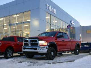 Used 2013 Dodge Ram 3500 SLT, ACCIDENT FREE, AIR CONDITIONING, KEYLESS ENTRY, CRUISE, CHROME BUMPER/GRILLE, SPRAY LINER, CLTH, 4X4 for sale in Edmonton, AB