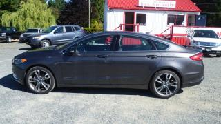 Used 2017 Ford Fusion Titanium for sale in Parksville, BC