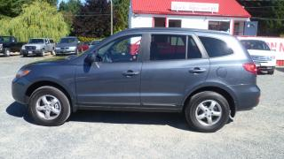 Used 2009 Hyundai Santa Fe LIMITED for sale in Parksville, BC