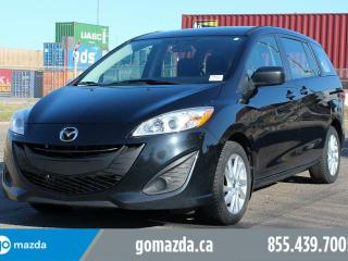 Used 2015 Mazda MAZDA5 GS power options Accident Free 1 Owner for sale in Edmonton, AB